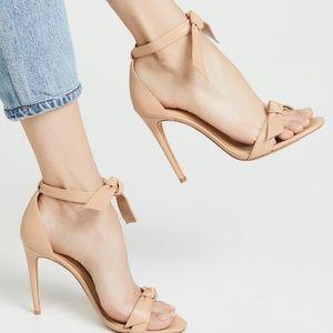Alexandre Birman Clarita Bow-Tie Leather Sandal